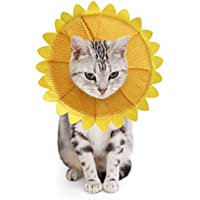 SLSON Collari Protettivi per Gatti e Collari Regolabili a Forma di Cono per Collari Curativi per Il Recupero delle…