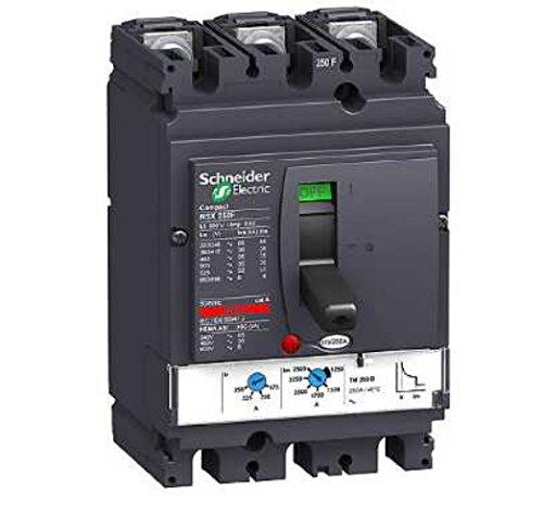SCHNEIDER ELECTRIC LV431632 CORTA CIRCUITO - CORTA CIRCUITOS (50/60 HZ  250A  10 5 CM  8 6 CM  16 1 CM  NEGRO)
