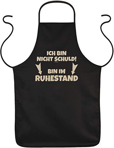 Art & Detail Shirt Grill Schürze - ICH Bin Nicht Schuld! Bin Im Ruhestand - Pensionär Kittel (Ruhestand Schulden)