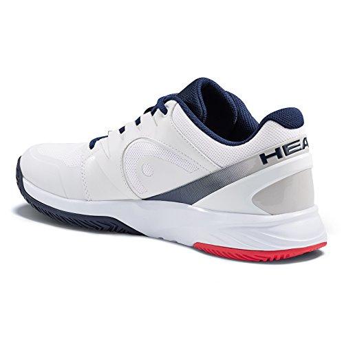 HEAD Unisex-Erwachsene Sprint Team Mens 2.0 Tennisschuhe Weiß (White/black Iris)
