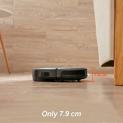 Proscenic 811GB WLAN Staubsauger Roboter(2 in 1: Saugroboter mit Wischfunktion), Wischroboter, Wassermenge einstellbar(3 Stufen), App- und Alexa Steuerung, Magnetband für Bereich Begrenzung - 5