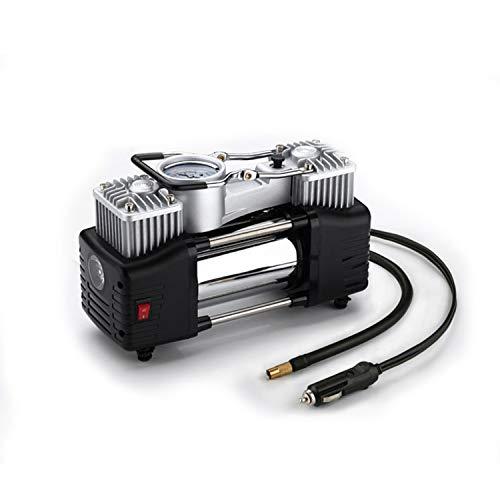 Compresor de aire digital automático para neumáticos de automóviles calibre del cilindro de 30 mm...