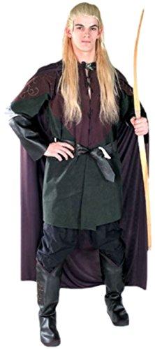 Kostüm Legolas Ganzkörper (Fancy Ole - Herren Männer Karnevalskomplettkostüm Herr der Ringe Legolas , M/L,)
