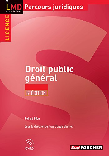 Droit public général - 6e édition