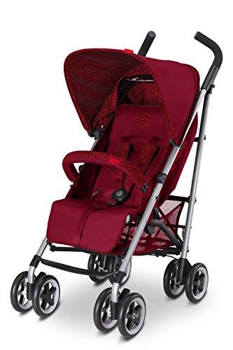 Cybex Topaz - Silla de paseo (0-17 kg, 0-4 años), color Mars red [Colección 2016]