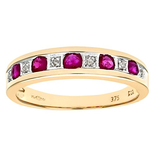 naava-womens-eternity-ring-9-ct-yellow-gold-diamond-and-ruby-ring-channel-set