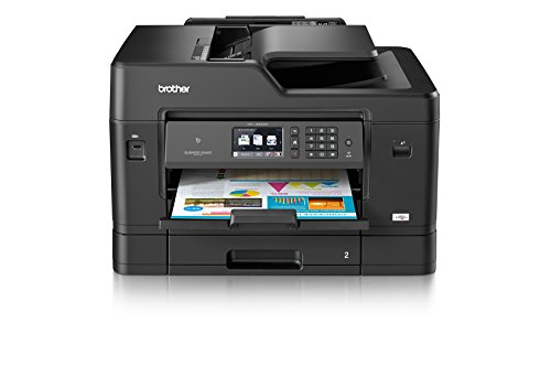 Brother MFC-J6930DW Din A3 4-in-1 Farbtintenstrahl-Multifunktionsgerät (Drucker, Scanner, Kopierer, Fax)