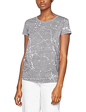 G-STAR RAW Luuto Splatter Straight R T Wmn S/S, Camiseta Para Mujer