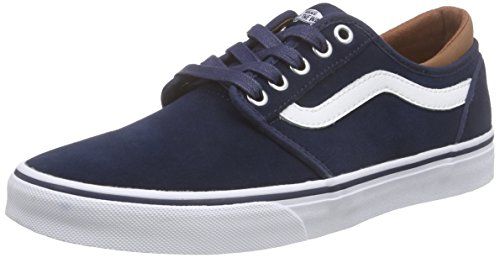 Vans Atwood, Baskets Basses Mixte Adulte Bleu (C&L/Dress Blues/White)