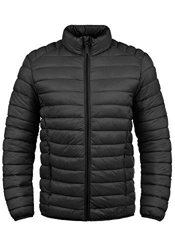 Blend Nils Herren Steppjacke Übergangsjacke Jacke mit Stehkragen, Größe:L, Farbe:Black (70155)