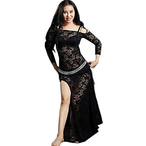 Costumes Avec Long Black Socks - Byjia Maillot De Danse Du Ventre Femmes