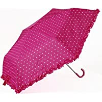 Ladies PolkaDot Supermini Umbrella Pink