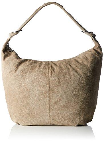 Bags4Less - Monaco, Borsa a tracolla Donna Beige (Sand)