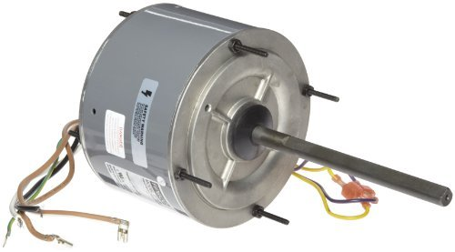 Fasco D7909 5.6 Frame Open Ventilated Permanent Split Capacitor Condenser Fan Motor with Ball Bearing, 1/4HP, 1075rpm, 208-230V, 60Hz, 1.8 amps by Fasco