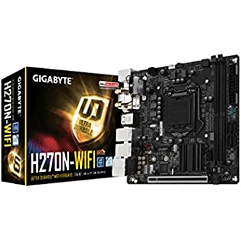 Gigabyte H270N-WIFI Carte Mère Intel Mini-ITX Socket 1151