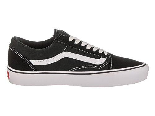 Vans Unisex-Erwachsene Ua Old Skool Lite Sneakers, (Canvas) Black/Black Schwarz