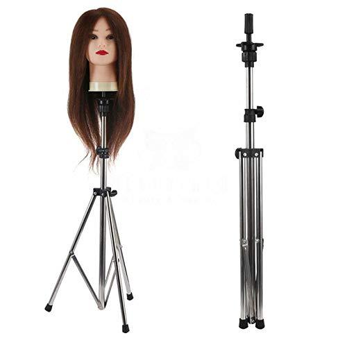 Mitlfuny Beauty Makeup,Einstellbare Perücke Kopf Ständer Mannequin Stativ -