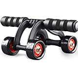 Four-Wheels abdominal Wheel ab Rollers For Home exercise Gym equipment Waist Workout Fitness Roller