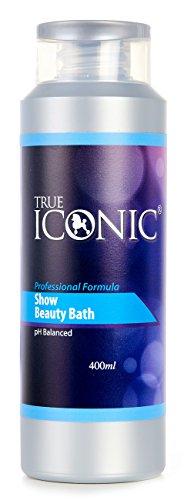 TRUE ICONIC Shampoo Show Beauty Bath Professional Formula Energizing und Revitalisierend-400ml. (Welpe Pfoten Vier Produkte)