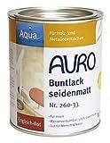 AURO Buntlack, seidenmatt - Oxid-Grün - 0,375L