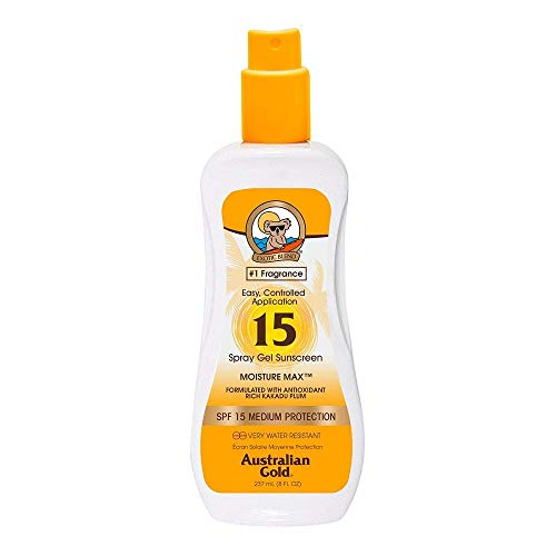 Australian Gold SPF 15 Spray Gel, 1er Pack (1 x 237 ml)