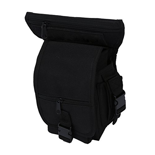 SODIAL(R) Sac multifonction pack porte ceinture cuisse taille jambetaille jambe poche velo camping Randonnee Randonnee sport Randonnee sport chasse airsoft montagne combat 5 couleurs