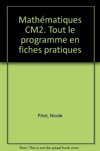 Mathématiques, CM2
