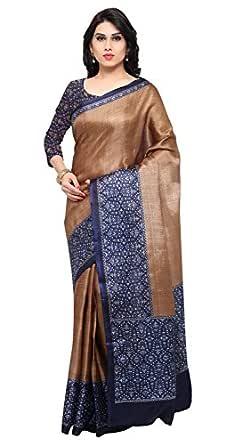 Rajnandini Tassar Silk with Blouse Piece Saree