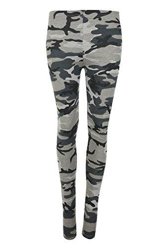 Be Jealous - Legging - Sans Manche - Femme * taille unique Army Grey