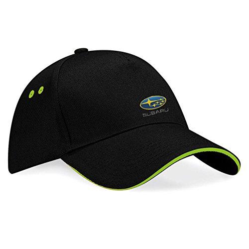 subaru-auto-bestickte-baseball-cap-mutze-k83-schwarz-grun
