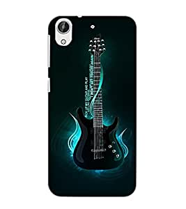 HTC DESIRE 626 GPLUS GUITAR Back Cover by PRINTSWAG