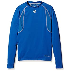 Skins Carbonyte Youth Top Long Sleeve Round Neck