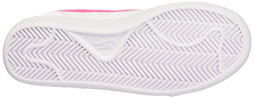 Nike Classic (Gs), Chaussures de Tennis Femme Multicolore (Blanc/Pink Pow-Wolf Grey)