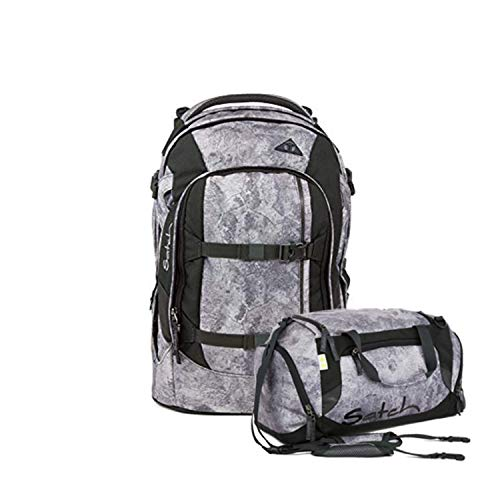 Satch Pack Rock Block Schulrucksack Set 2tlg. -