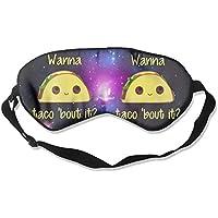 Wanna Taco Bout It 99% Eyeshade Blinders Sleeping Eye Patch Eye Mask Blindfold For Travel Insomnia Meditation preisvergleich bei billige-tabletten.eu