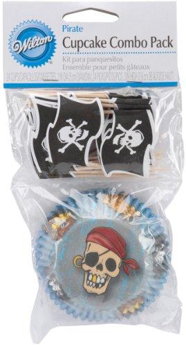 Cup Combo Pack (Wilton Combo-Paket Backförmchen Piraten, 24 Stück)
