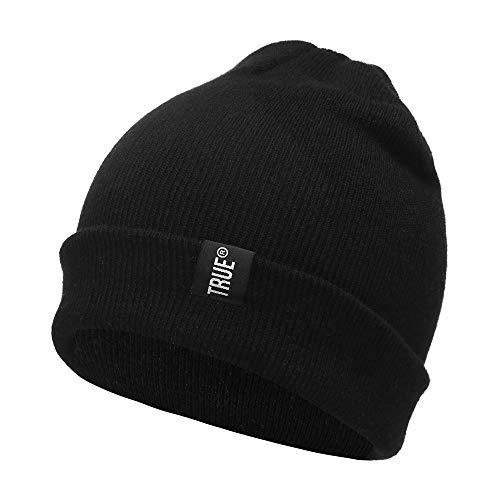 Shujin Unisex Winter Warme Strickmütze Skimütze Beanie Mütze Hüte Long Slouch Knit Beanie Warm Caps Kopfkappe für Herren und Damen Knit Slouch Beanie