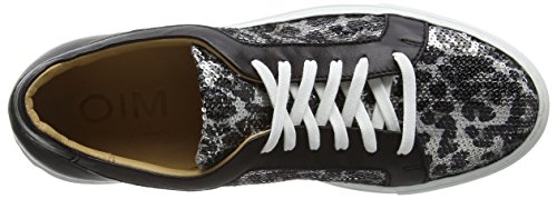Objects in Mirror M008, Baskets Basses femme Multicolore - Mehrfarbig (GREY/BLACK)