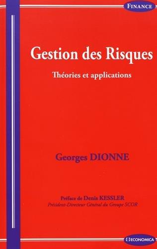 Gestion des risques par Georges Dionne