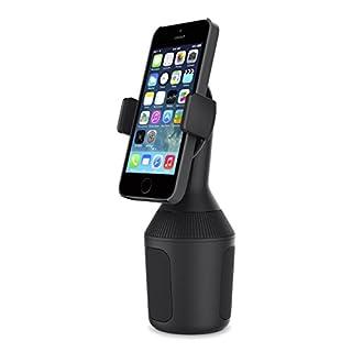 Belkin Halterung (geeignet für Kfz-Getränkehalter, Smartphones, Kfz-Becherhalter, iPhone XS Max, XS, XR, X, 8/8 Plus, Geräte von Samsung, LG, Sony, Google und andere Geräte)