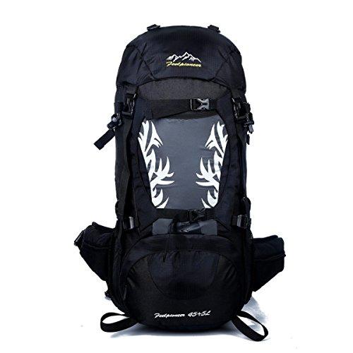 Outdoor Sport Bergsteigen Tasche Reisen Tasche Wasserdicht Schulter Tasche Black