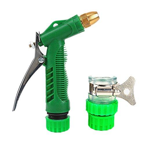 AUMING Verstellbare Spritzpistole Wasserpistole Garten liefert Haushaltspistole Kopf geeignet for Gartenbewässerung Waschen Glas für Autowaschanlagen, Garten Bewässerung