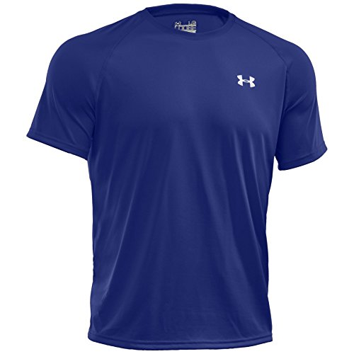 Under Armour Ua Tech Ss Tee, Camiseta De Fitness Hombre, Azul (Royal), L