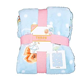 Licensed_Primark -: Disney :- Alice in Wonderland Super Soft Fleece Snug Rug Throw Bed Blanket 120cmx150cm