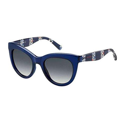 Tommy Hilfiger Damen Sonnenbrille TH 1480/O/S 9O PJP 51, Blau (Blu/Grey) Preisvergleich