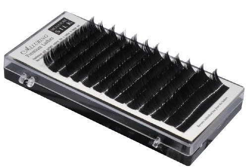 Alluring Silk Lashes C Curl .15 X 7-15mm 9 Sizes in 1 Mixed Tray Eyelash Extensions by iLash Store