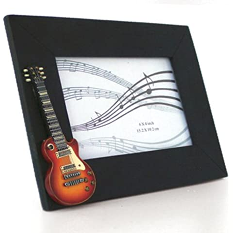 My Music Gifts - Cornice portafoto con chitarra vintage