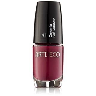 Artdeco Ceramic Nail Lacquer unisex, Nagellack, farbe: 041 rich berry, 1er Pack (1 x 41 g)