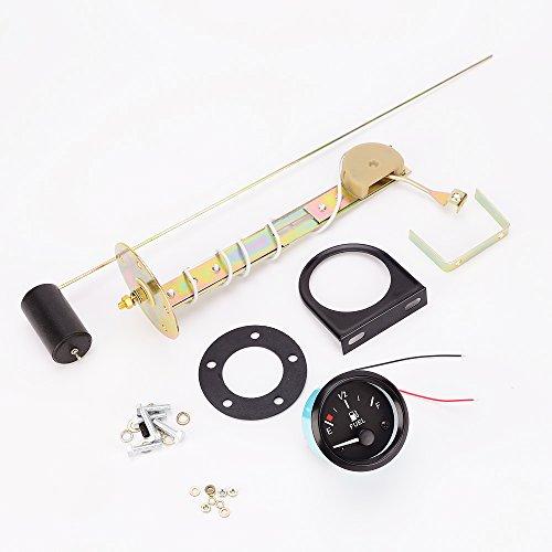 Sconosciuto 2'' Auto Sensore Manometro Pressione Olio Indicatore Livello Misuratore Carburante Metro