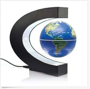 Électronique magnétique flottant Globe lévitation Anti Gravité Magic/Roman Lumières de Noël saint valentin cadeau Home Office Decor